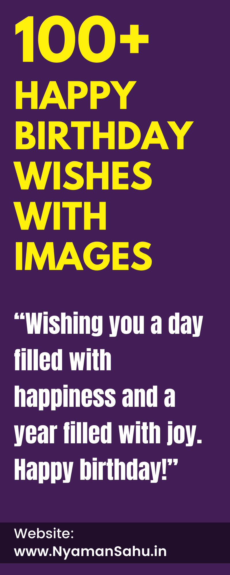 Happy Birthday Wishes with images