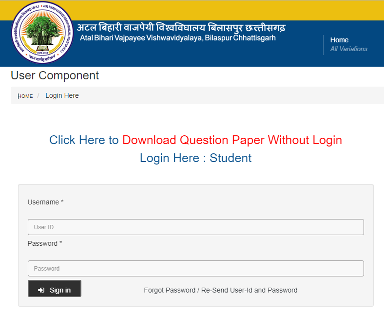 Bilaspur University Student Login Is Not Difficult At All!